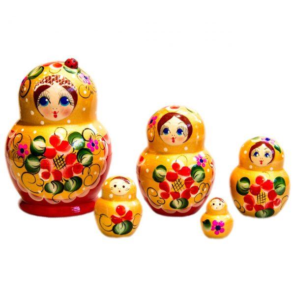 Матрешка - часть русского наследия и культуры